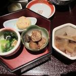 京町家 - おばんざい4種