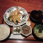 京町家 - 大海老と旬菜の天麩羅御膳