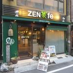 ZEN茶'fe - 外観