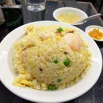 中国料理 登龍 - 海老チャーハン(大盛)830円