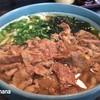 麺ますや  - 料理写真:2017.2 ばら肉うどん(単品600円、平日麺大盛り無料)