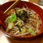 だん家 - 【2017.25(土)】和風野菜ラーメン550円