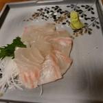 だん家 - 【2017.25(土)】タイのお刺身670円