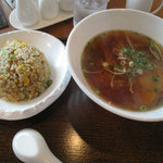 Chainizuchaochao - Aランチ 醤油ラーメン&チャーハン