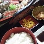 63110373 - 刺身定食1620円
