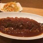 カレーや うえの - 料理写真:ロースカツカレー