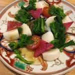 63113329 - カブと菜花のサラダ