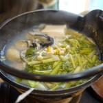 いづ屋 - (コース)牡蠣の小鍋
