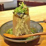 和ガリコ - たまに行くならこんな店は、シビエ料理や和酒との組み合わせで池袋で好評を博した「和ガリコ」の神田版な、「和ガリコ 神田店」です。