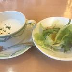 63115088 - スープとサラダあるょ