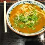 丸亀製麺 - カレーうどん 並 410円