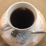 63115455 - 和風きのこ(サラダ・コーヒー付) ¥1,050 のコーヒー