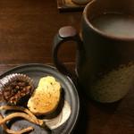 天手古舞 - 料理写真:濃い蕎麦の風味が絶品な「蕎麦湯割り(500円)」