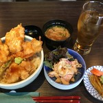 和食ダイニング 粋醸 - 地養鶏の天丼