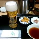 てんぷら食堂 ひさご - 生ビール:550円