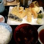 てんぷら食堂 ひさご - ひさご天ぷら定食:1,100円