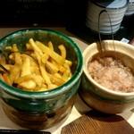 てんぷら食堂 ひさご - 漬け物、塩辛