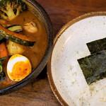 らっきょ&Star - 季節野菜チキンスープカレー1,500円