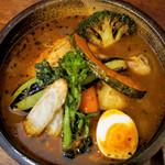 らっきょ&Star - 季節野菜チキンスープカレー 1,500円