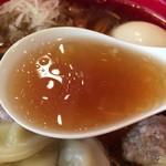 63118655 - 琥珀色に輝くスープ