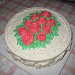 ル・メイユール - 元旦のバタークリームのバースデイケーキです!(^^)!
