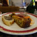 フランス食堂 キリギリス - 前菜の盛り合わせ☆