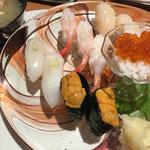 菊鮨 - 道産おすすめ握り 2,916円