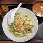 沖縄食堂 - ちゃんぷる丼 800→500円