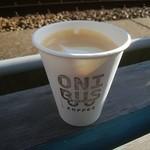 オニバスコーヒー - カフェラテ