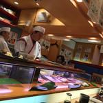 ひょうたん寿司 - ひょうたん寿司(福岡県福岡市中央区天神)店内