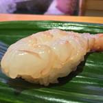 ひょうたん寿司 - ひょうたん寿司(福岡県福岡市中央区天神)旬のおまかせにぎりセット〜赤海老