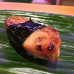 ひょうたん寿司 - ひょうたん寿司(福岡県福岡市中央区天神)旬のおまかせにぎりセット〜焼穴子