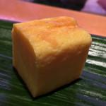 ひょうたん寿司 - ひょうたん寿司(福岡県福岡市中央区天神)旬のおまかせにぎりセット〜玉子焼き