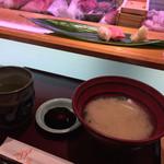 ひょうたん寿司 - ひょうたん寿司(福岡県福岡市中央区天神)旬のおまかせにぎりセット