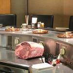 しゃぶ玄 - 牛ロース肉のブロック
