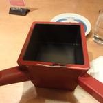 ごまそば八雲 札幌国際ビル店 - 蕎麦湯