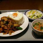 63123526 - シーフード辛味噌炒めセット