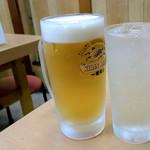 鳥八食堂 - 生ビールとチューハイ