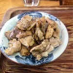 軍鶏ラーメン美幸 - 焼しゃも800円