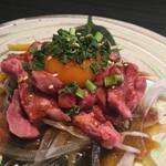 宮崎 尾崎牛 くらした - 唯一宮崎市内で合法的にユッケ食べれます