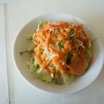 カトマンズ - 料理写真:Cセット850円のサラダ