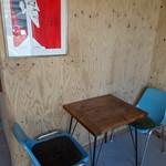 カミノコーヒー - シンプルな店内