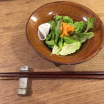 温土 - ランチ サラダ