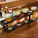 はこだてビール - 函館時ビール「おためしセット4種類(おつまみ付) (1300円)」