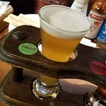 はこだてビール - 「五稜の星」、キメ細かい泡がふわっとのって、香りもフルーティー