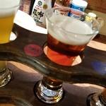 はこだてビール - 「北の一歩」、後味でやや甘みを感じる、わかりやすいエールビール