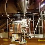 はこだてビール - 地ビールの醸造所で飲んでるな~っという実感も持てます
