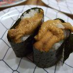 元祖寿司 - うに軍艦