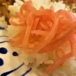 すき家 - 紅生姜