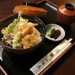 八百喜 - 天丼 1,000円